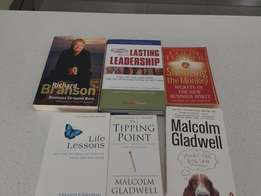 6 Books Including - Life Lessons