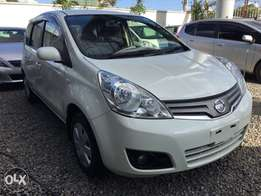 Nissan note 2010 Kcp pearl white