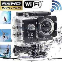 Full HD 1080P WIFI Sports Action Camera with free 8gb Samsung micro sd