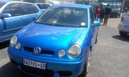 Polo 1.6 5 Door Model 2005 Colour Blue Factory A/C & CD Player