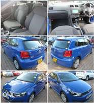 VW Polo 2010 Comfort Line - Metallic Blue