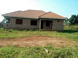 A very powerful 4 bedroom shell house for sale in Gayaza at 85m.