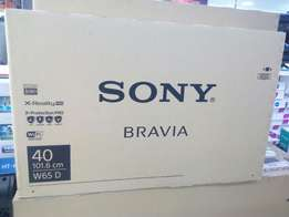 Smart Internet TV Sony Bravia LED Latest 40 Inches Brand New at Shop