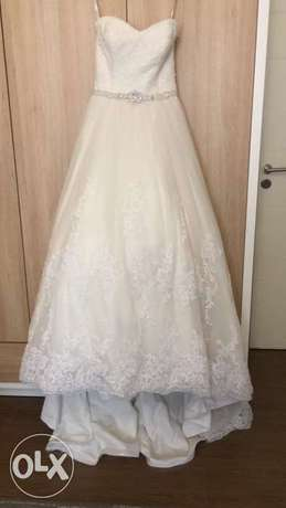 wedding dress for sale bought from New York David Tutera