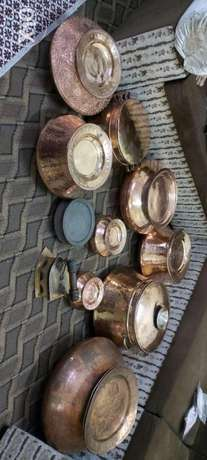 Antique pots and iron