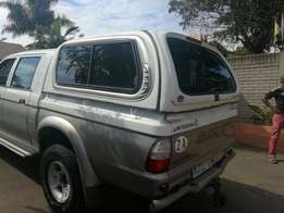 Aero canopy for Colt double cab