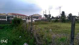 1/4 acre 2nd row plot for sale in Kiamunyi, Nakuru.