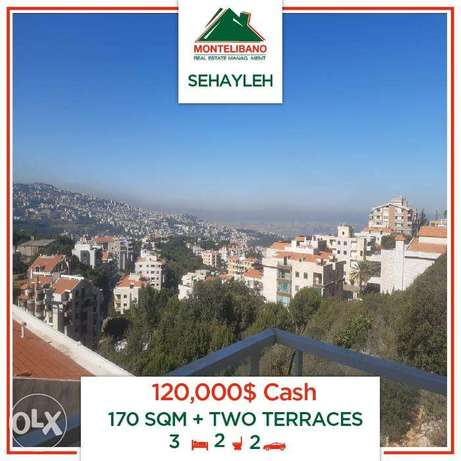 With Two Terrace!120,000$Cash!Sehayleh!