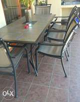 Patio 8 seater 8 chairs