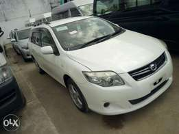 White Toyota Fielder G edition HP accepted