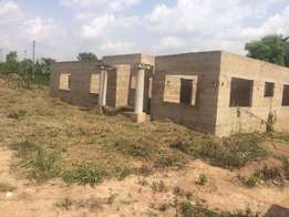 4 BEDROOMS self- contained uncompleted house 4 SALE