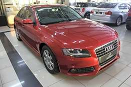 2011 Audi A4 1.8 t Ambition Multitronic (b8) in Burgundy