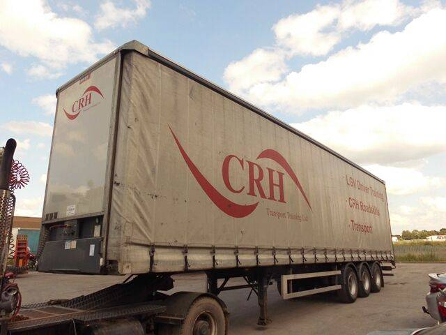 Sale concept curtainside curtain side semi-trailer for  by