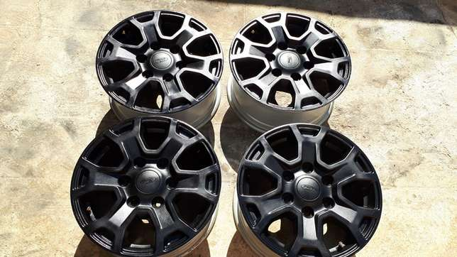 Ford Ranger 16inch Black Coated Rims Cosmo City - image 4