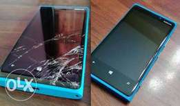 NOKIA Lumia screens available.