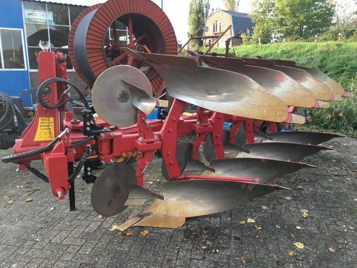 Cappon univar + 4-schaar ploeg reversible plough - 2012