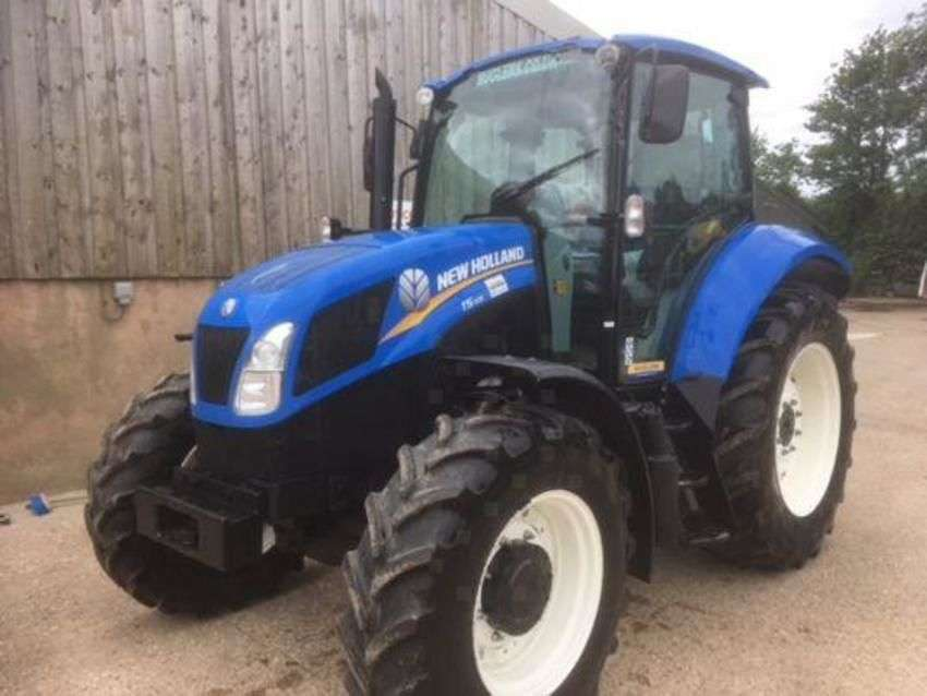 New Holland t5.105 deluxe - 2013 - image 2