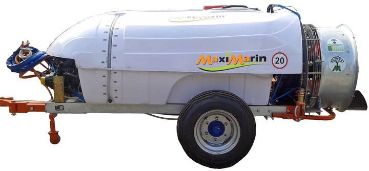 Trailed orchard blower sprayer MaxiMarin - 2018