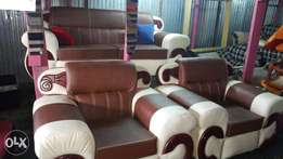 5seater classical leather