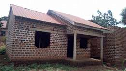 Uncompleted house.