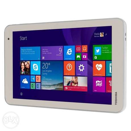 "Tab Toshiba 8"" 1GB Ram wifi Back to school"