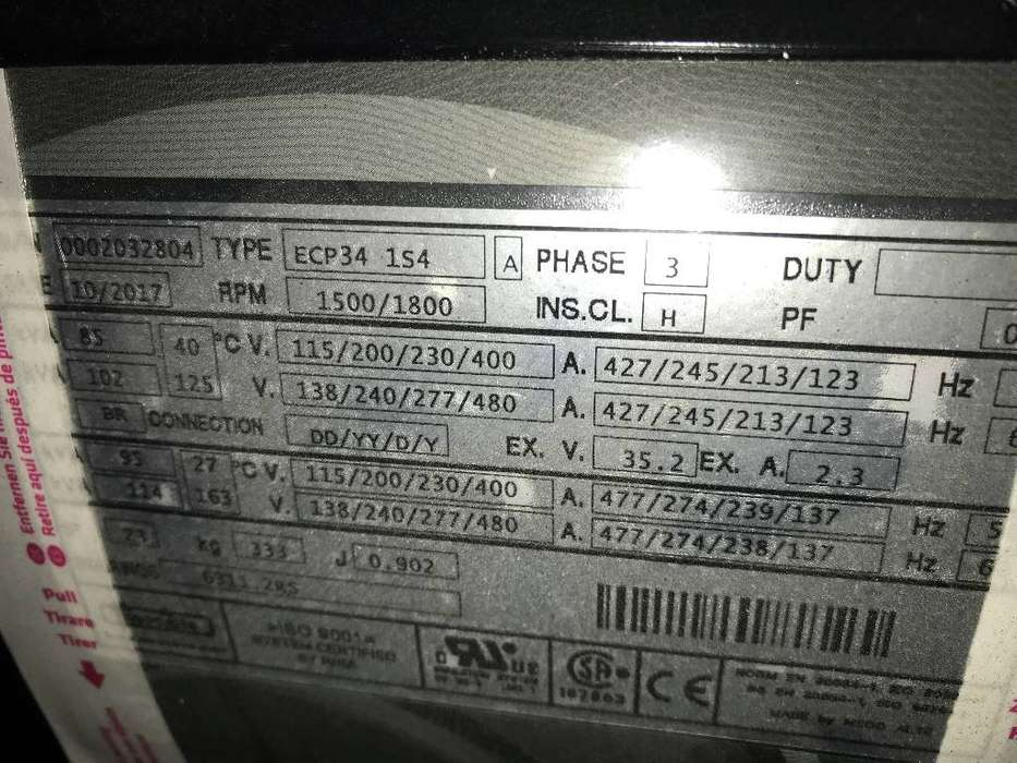 Doosan D1146 - 93 kVA Generator - DPX-15548 - 2019 - image 13