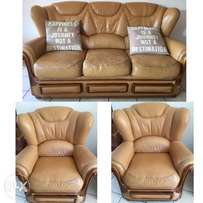 Genuine Leather Bali Couches