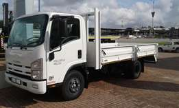 Isuzu NPR 400 SWB Drop Side Body