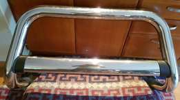 Ford Ranger T6 Stainless Steel Nudge Bar