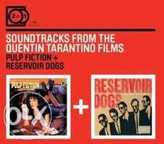 Pulp Fiction movie dvd and Pulp Fiction\Reservoir Dogs soundtracks box
