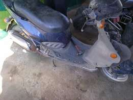 125 PGO scooter for spares R3000 NT NEG AT CLIVES BIKES