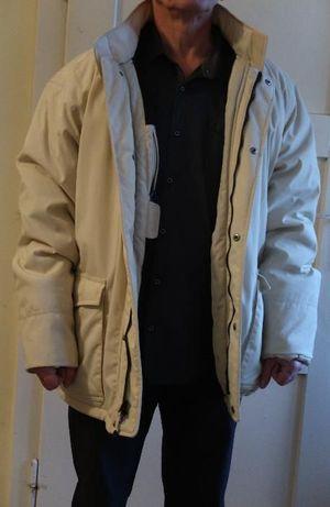 Ciepła kurtka męska zimowa z podpinką polarową,na zimę,kolor