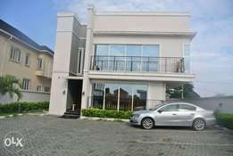 A Fully Furnished 5 Bedroom Detached Duplex With Boys Quarter