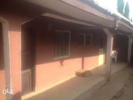 standard one bedroom flat with water for rent in bwari