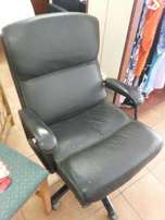 Office Swivel Chair - Genuine Leather
