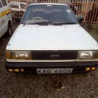 Nissan B 12 locally assembled