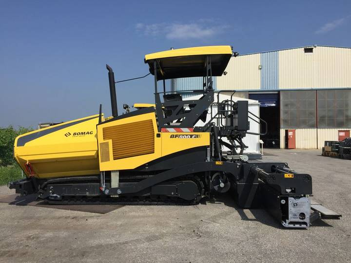 BOMAG BF 800 C S600 - 2014