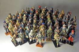 Del Prado Men at War 1914 to 1945 Series 75 figurines with magazines