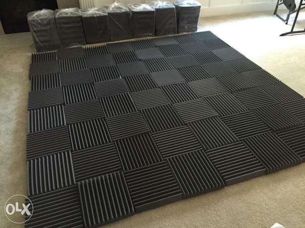Acoustic foam sound proofing