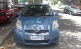 Toyota yaris 1.6 T3 blue in color automatic 2008 model 98000km R76000