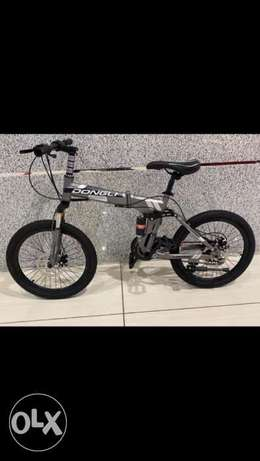 New Stock - DONGLI SOLDIER Foldable 20 Inch Kids Bike Bicycle Cycle