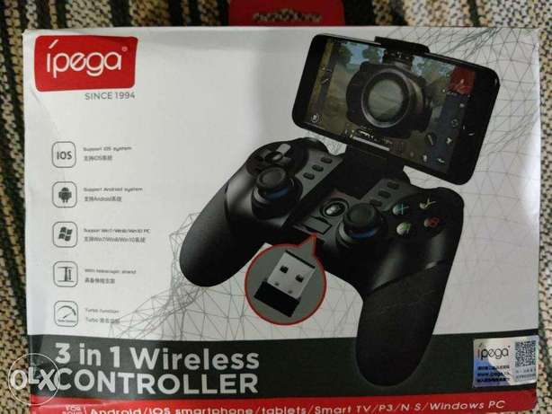 Ipega PG-9156 Bluetooth Gamepad With 2.4G Wireless Receiver