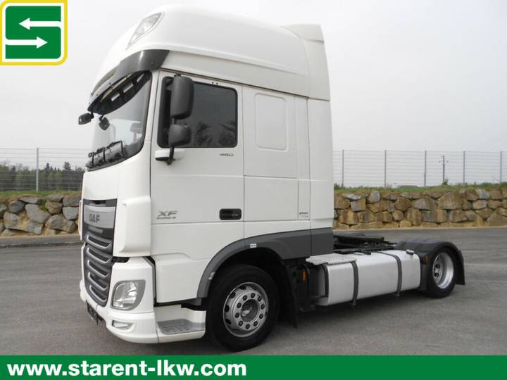 DAF XF 460 LOW DECK SSC, 2 Tanks, Standklimaanlage - 2015