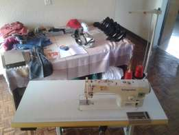 Industrial sewing machine (plain/straight) Kingstar automatic