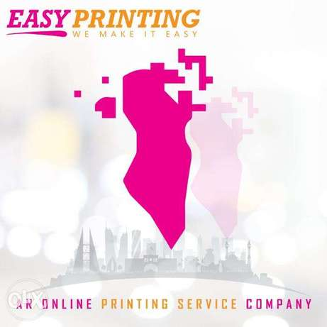 Easy Printing Bahrain - An Online Printing Service Company.
