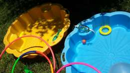 Shell water & sand playset