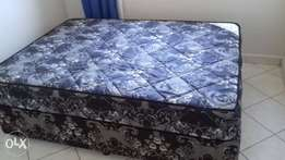 Good quality double bed used for month only