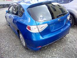 Manual Blue Fully loaded impreza with broad rims, just arrived