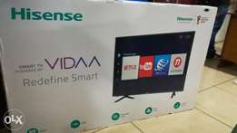 55 inches Hisense UHD 4k LED TV