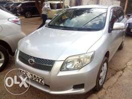 Toyota Fielder car for hire